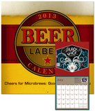 Beer Labels - 2013 Calendar Calendars