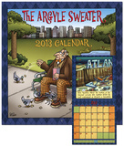 The Argyle Sweater - 2013 Calendar Calendarios