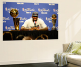 Miami, FL - June 21:  Game Five of the 2012 NBA Finals on June 21, 2012 at American Airlines Arena  Wall Mural by Ronald Martinez