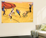 Miami, FL - June 21:  Miami Heat and Oklahoma City Thunder Game Five, Kevin Durant, Chris Bosh and  Wall Mural by Noah Graham