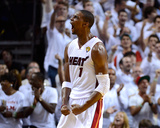 Miami, FL - June 21:  Miami Heat and Oklahoma City Thunder Game Five, Chris Bosh Photographic Print by Ronald Martinez