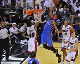 Miami, FL - June 21:  Miami Heat and Oklahoma City Thunder Game Five, Kevin Durant Photographic Print
