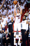 Miami, FL - June 21:  Miami Heat and Oklahoma City Thunder Game Five, Mike Miller Photographic Print by Ronald Martinez
