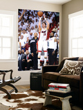 Miami, FL - June 21:  Miami Heat and Oklahoma City Thunder Game Five, Mike Miller Wall Mural by Ronald Martinez