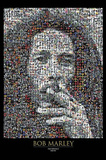 Bob Marley - Photomosaic I Prints
