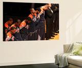 Miami, FL - June 21:  Miami Heat and Oklahoma City Thunder Game Five, Kevin Durant Wall Mural by Joe Murphy