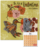The Art of Valentina - 2013 Calendar Calendars