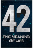 42 The Meaning of Life Poster Posters