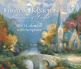 Thomas Kinkade Painter of Light with Scripture - 2013 Day-to-Day Calendar Calendars