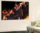 Miami, FL - June 21:  Miami Heat and Oklahoma City Thunder Game Five, Kevin Durant Prints by Joe Murphy