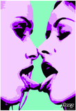 Steez French Purple Art Print Poster Poster