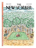 The New Yorker Cover - July 2, 2012 Premium Giclee Print by Edward Koren