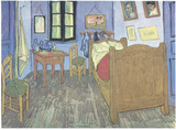 Bedroom at Arles Posters by Vincent van Gogh