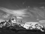 Spectacular Peaks of Fitzroy Massif with Snow, Glaciers and Clouds Photographic Print by John Eastcott & Yva Momatiuk