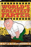 Family Guy - World's Greatest Farter, Distressed Prints