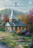 Thomas Kinkade Painter of Light with Scripture - 2013 Large Monthly Planner Calendar Calendars