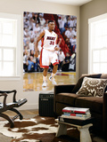 Miami, FL - June 21:  Miami Heat and Oklahoma City Thunder Game Five, Norris Cole Wall Mural by Ronald Martinez