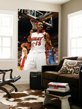 Miami, FL - June 21:  Miami Heat and Oklahoma City Thunder Game Five, Mario Chalmers Prints by Issac Baldizon