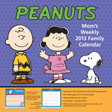 Peanuts Mom&#39;s Weekly - 2013 Family Calendar Calendars