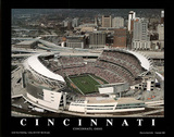 Cincinnati Bengals - Paul Brown Stadium Poster by Brad Geller