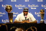 Miami, FL - June 21:  Game Five of the 2012 NBA Finals on June 21, 2012 at American Airlines Arena  Photographic Print by Ronald Martinez