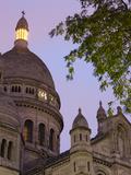 France, Paris, Montmartre, Basilique Sacre Coeur Basilica Photographic Print by Walter Bibikow