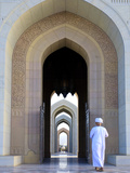 Oman, Muscat, Sultan Qaboos Grand Mosque Photographic Print by Michele Falzone