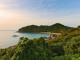 Thailand, Ko Samui, Silver Beach at Sunset Photographic Print by Shaun Egan