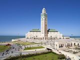 Hassan Ii Mosque, the Third Largest Mosque in the World, Casablanca, Morocco, North Africa Photographic Print by Gavin Hellier