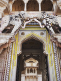 Elephant Gate, Bundi Palace, Bundi, Rajasthan, India Photographic Print by Ian Trower