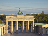Brandenburg Gate, Pariser Platz, Berlin, Germany Photographic Print by Jon Arnold