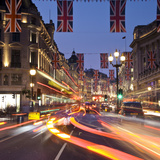 Regent Street, London, England, Uk Photographic Print by Jon Arnold