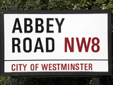 Abbey Road Is Home to the Famous Tone Studio Where the Beatles Songs Where Recorded and the Name of Photographic Print by David Bank
