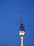 Fernsehturm (Tv Tower), Berlin, Germany Photographic Print by Jon Arnold