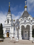 Russia, Black Sea Coast, Sochi, Church of Archangel Michael Photographic Print by Walter Bibikow