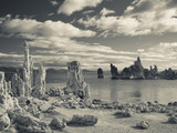 USA, California, Eastern Sierra Nevada Area, Lee Vining, Mono Lake, Tufa Stone Formation Photographic Print by Walter Bibikow