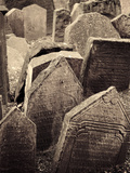 Czech Republic, Prague, Jewish Quarter, Old Jewish Cemetery Photographic Print by Michele Falzone
