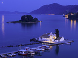 Vlacherna Monastery, Corfu, Ionian Islands, Greece Photographic Print by Katja Kreder