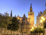 Spain, Andalucia, Sevilla, Cathedral and Giralda Tower Photographic Print by Michele Falzone