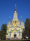 Kazakhstan, Almaty, Panfilov Park, Zenkov Cathedral Previously known as Ascension Cathderal, Built  Photographic Print by Jane Sweeney