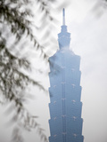 Taiwan, Taipei, Taipei 101, World's Tallest Building 2004-2010 Photographic Print by Jane Sweeney