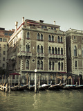 Hotel Bauer Palazzo, Grand Canal, Venice, Italy Photographic Print by Jon Arnold