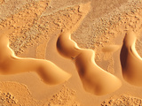 Dunes from Above, Sossusvlei, Namib-Naukluft National Park, Namib Desert, Namibia, Africa Fotografisk tryk af Nadia Isakova