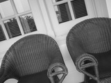 Cane Chairs at Raffles Hotel, Singapore Photographic Print by Jon Arnold