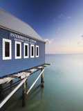 Busselton Pier at Dawn, Western Australia, Australia Photographic Print by Ian Trower