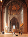 Liverpool Cathedral is the Church of England Cathedral of the Anglican Diocese of Liverpool, Built  Photographic Print by David Bank