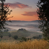 Italy, Tuscany, Siena District, Orcia Valley, Podere Belvedere Near San Quirico D'Orcia Photographic Print by Francesco Iacobelli