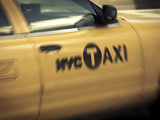 Yellow Taxi Cab, Manhattan, New York City, USA Photographic Print by Jon Arnold