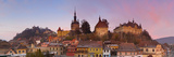 The Medieval Old Town of Sighisoara, Transylvania, Romania Photographic Print by Doug Pearson