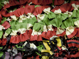 Venice, Veneto, Italy, Coloured Pasta on Display in a Shop Window Photographic Print by Ken Scicluna